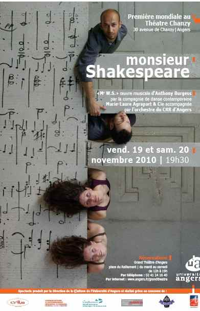Affiche de Monsieur Skakespeare